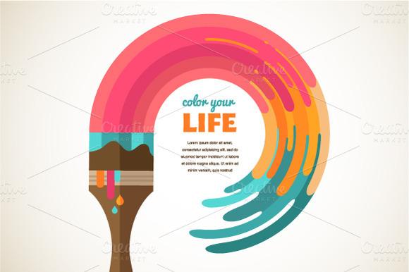 Design Creative Color Concept