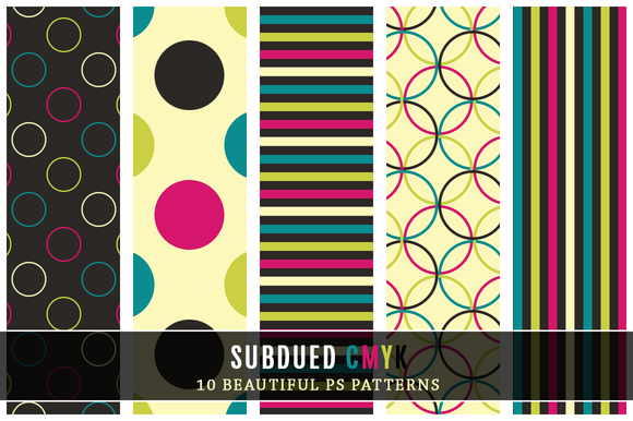 Subdued CMYK