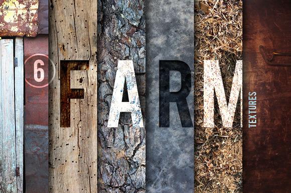 6 Farm Textures