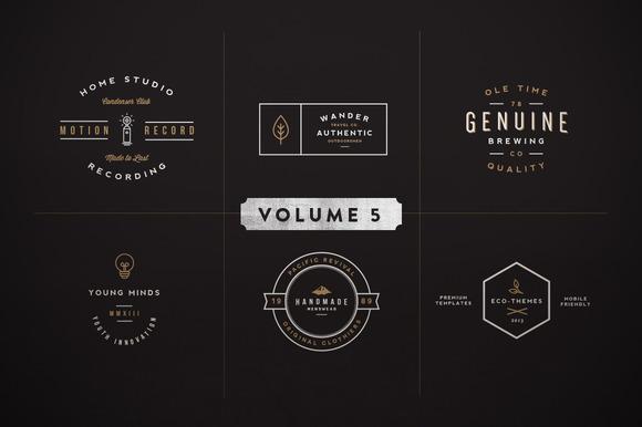 Vintage Logo Kit Volume Five