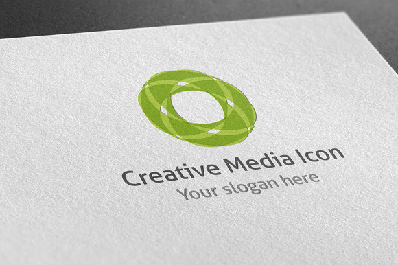 Creative Media Icon Logo