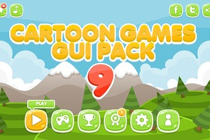 Cartoon Games GUI Pack 9