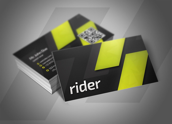 Rider Business Cards