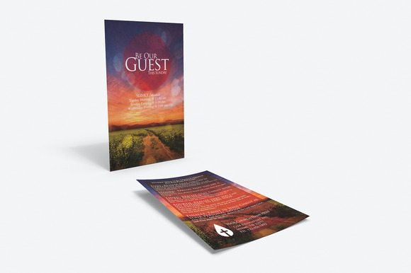 Be Our Guest Outreach Card
