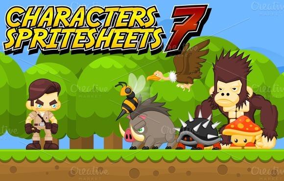 Characters Spritesheet 7