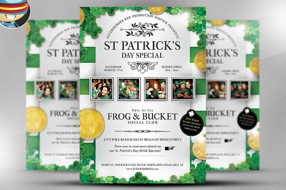 Saint Patrick S Day PSD Flyer 1