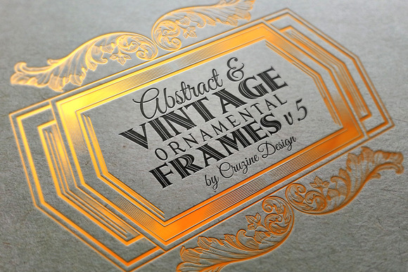 10 Frames Vol.5 - Vintage Ornament - Objects