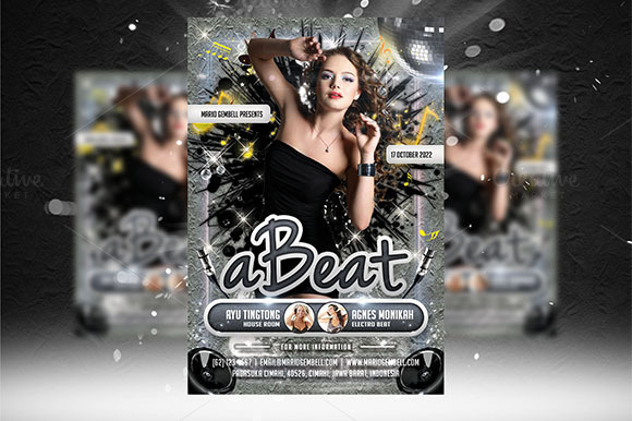 ABeat Flyer Template
