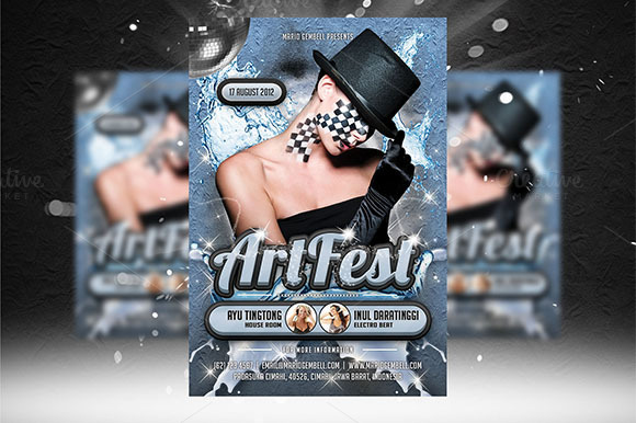 Art Fest Flyer Template