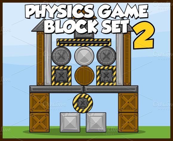 Physics Game Block Set 2