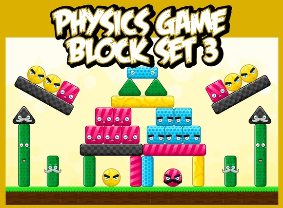 Physics Game Block Set 3