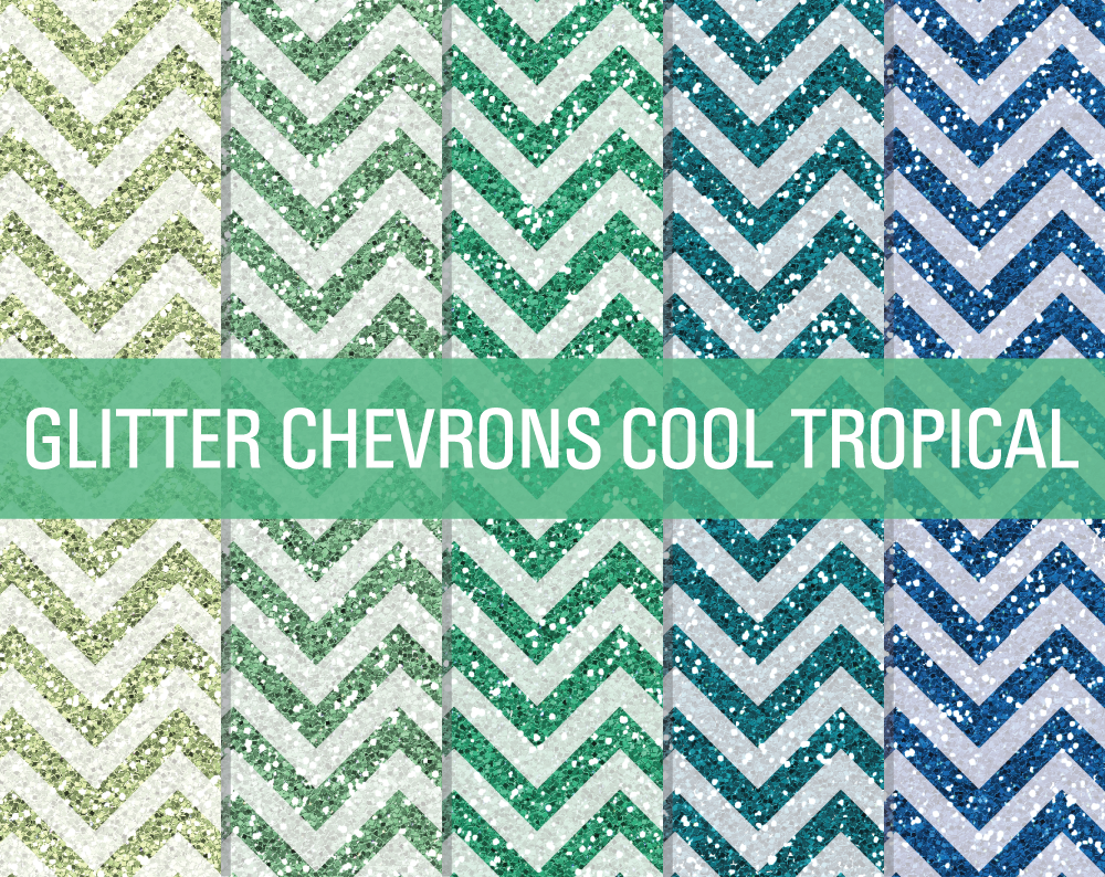 Glitter Chevron Desktop Wallpaper
