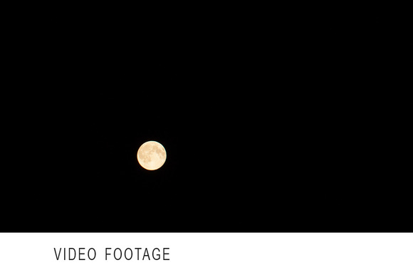 Timelapse Of Full Moon Moving Night