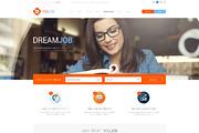 YouJob - Job Portal (HTML+P-Graphicriver中文最全的素材分享平台