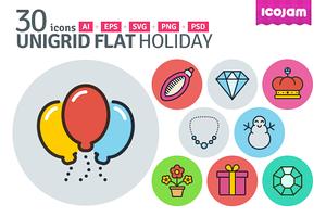 UniGrid Flat Holiday