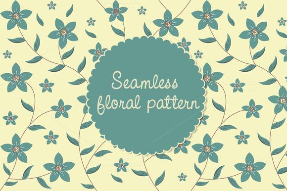 Floral Pattern-Seamless