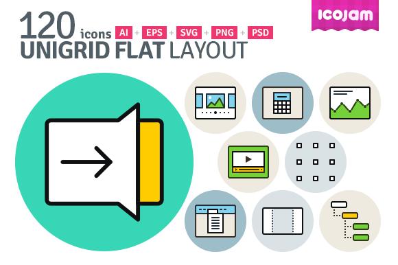 UniGrid Flat Layout