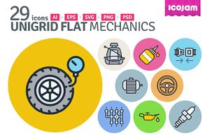 UniGrid Flat Mechanics