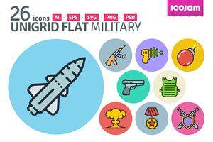 UniGrid Flat Military