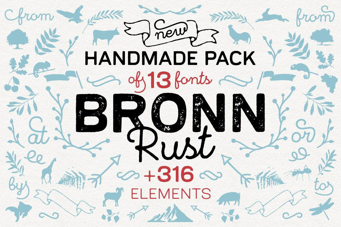 Bronn Rust 83 Off Script Fonts On Creative Market