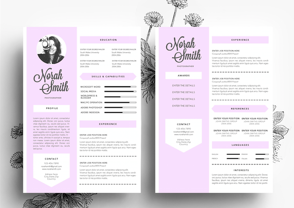 creative cv business card template resume templates on