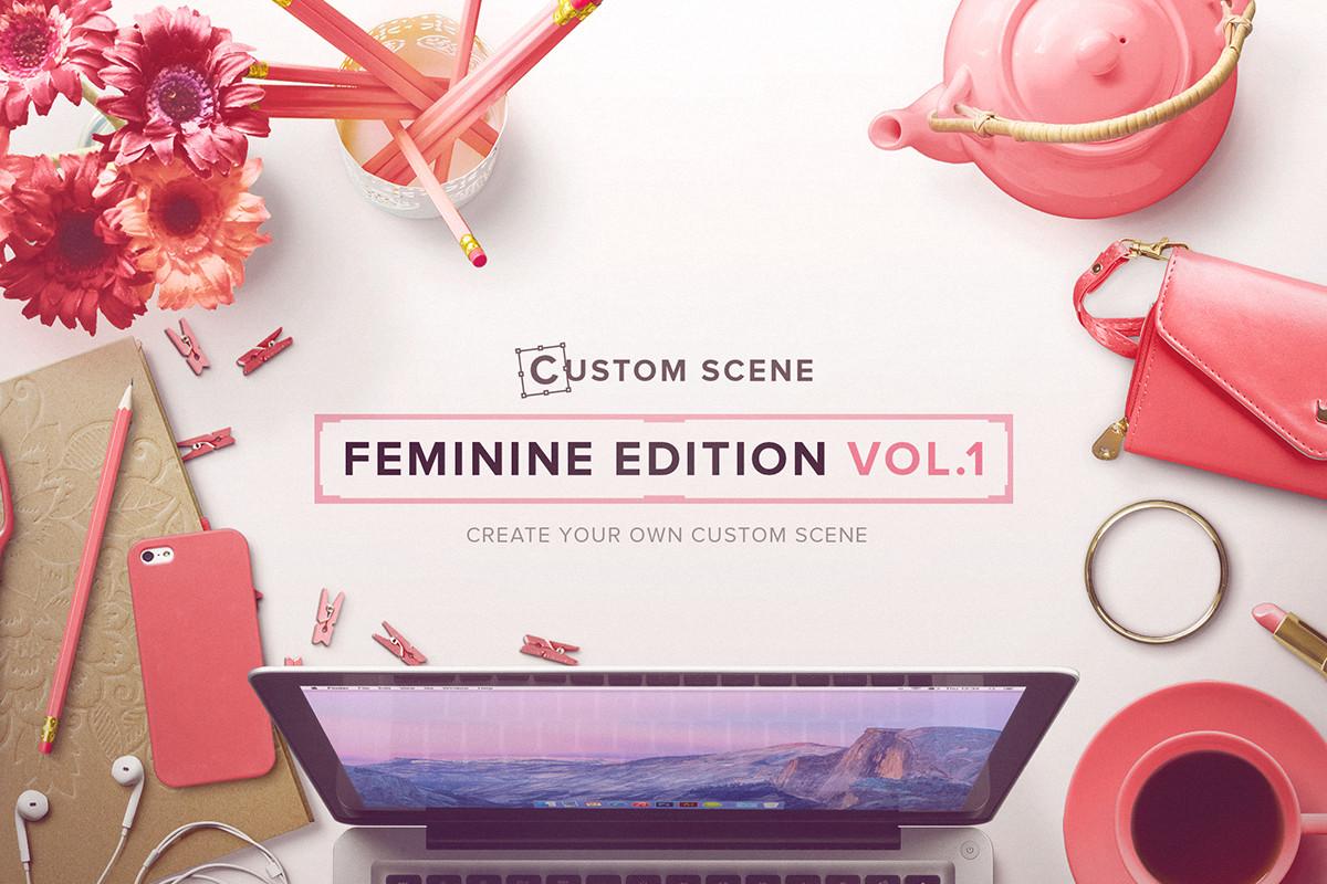 custom scene - feminine ed