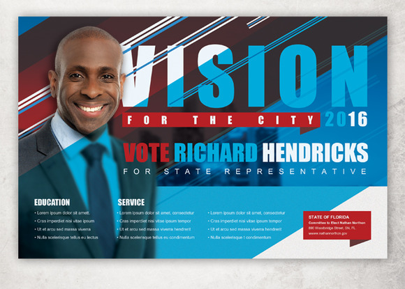 Vision Political Flyer Template Flyer Templates On