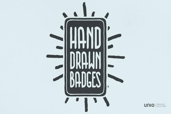Hand-Drawn Badges