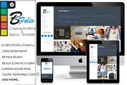 BFolio - Creative Portfolio-Graphicriver中文最全的素材分享平台