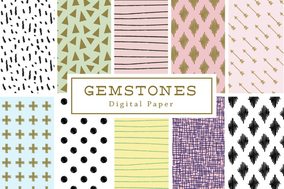 50% Off Gemstones Backgrounds