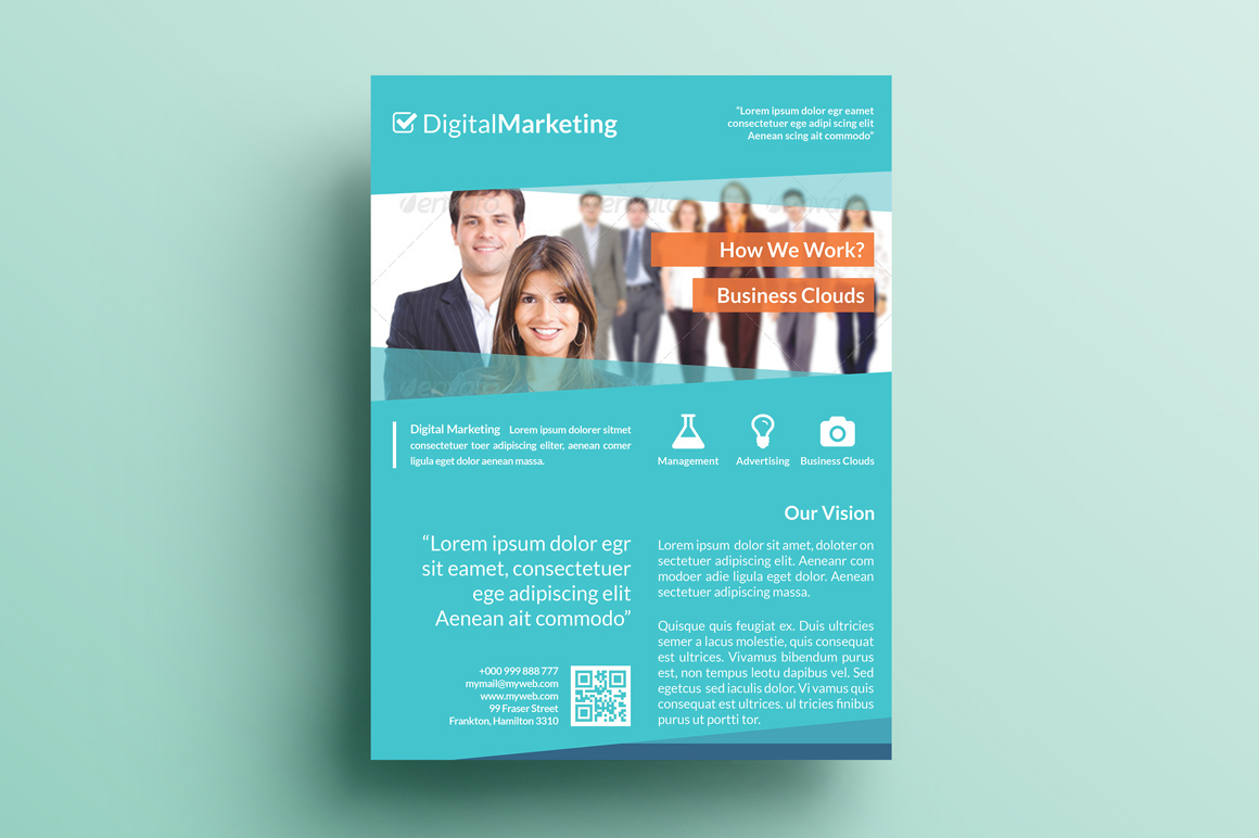 sample flyers for marketing