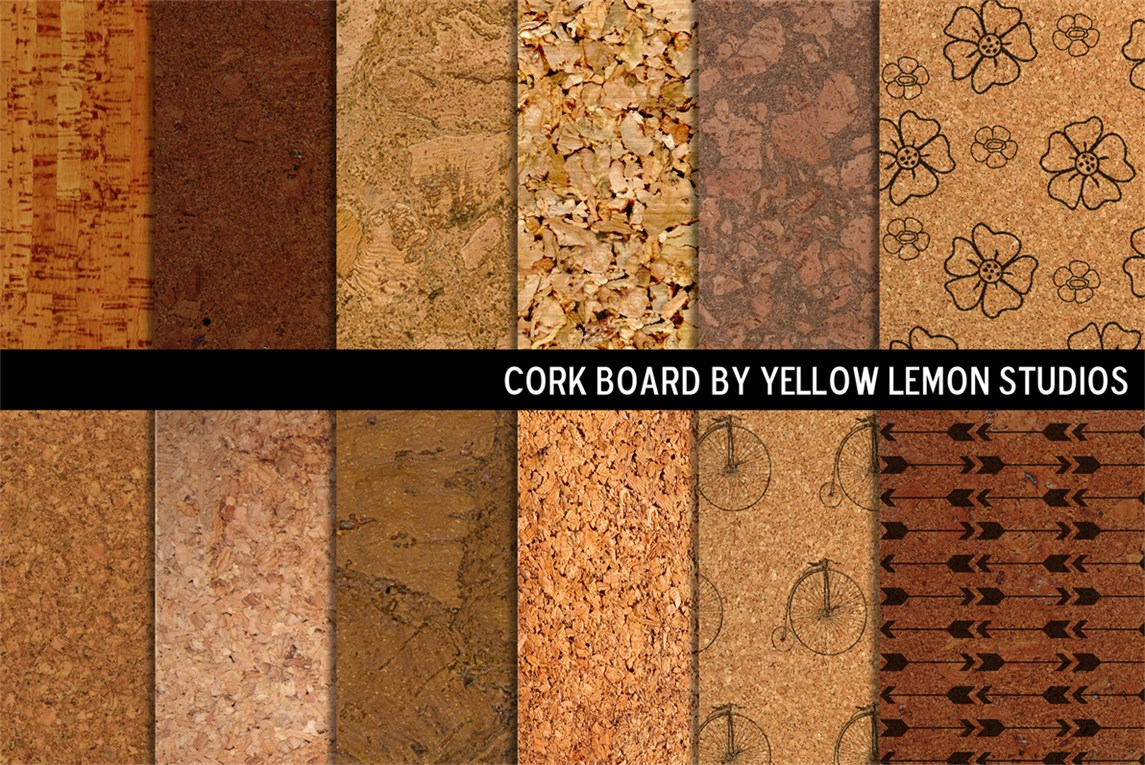 Decorative Cork Board Backgrounds Textures On Creative
