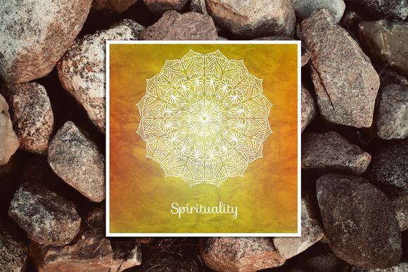 Spirituality Decorative Card