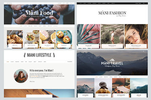 Mani - MultiPurpose Wordpress Blog