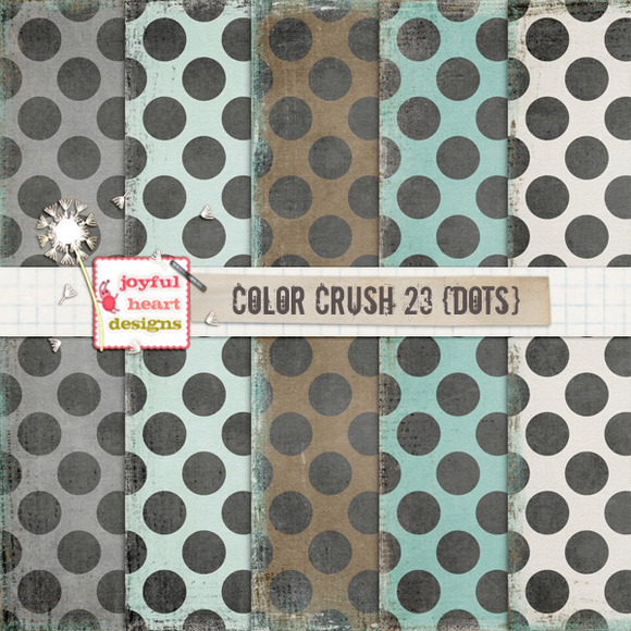 Color Crush 23 {dots}