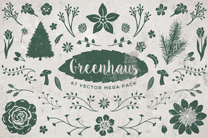 Greenhaus Floral Vector Pack Vol 1