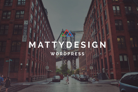 Matty - Powerful and Flexible Theme