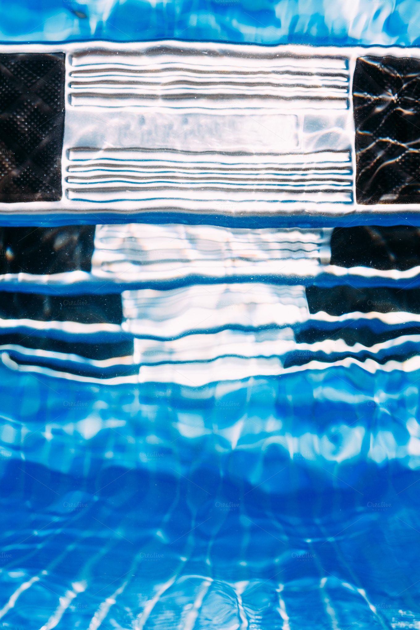 Swimming Pool Abstract Photos On Creative Market