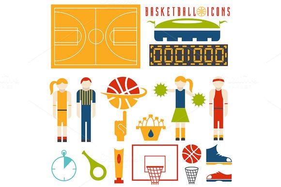 Icons Of Basketball