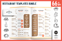 餐单模板 Restaurant Templat-Graphicriver中文最全的素材分享平台