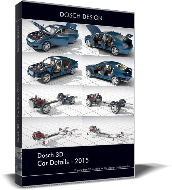 Dosch 3D: Car Details 2015 - Collada