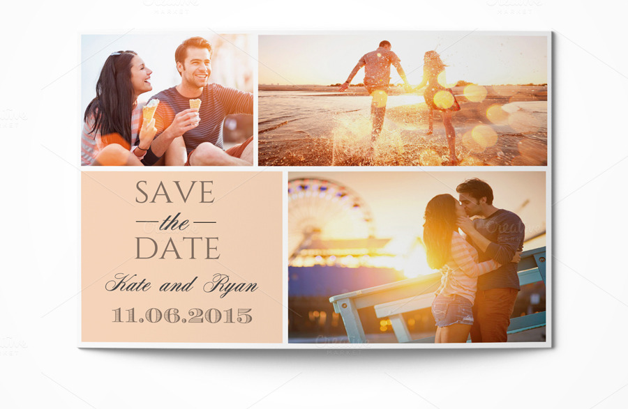 business save the date templates free - save the date card invitation templates on creative market