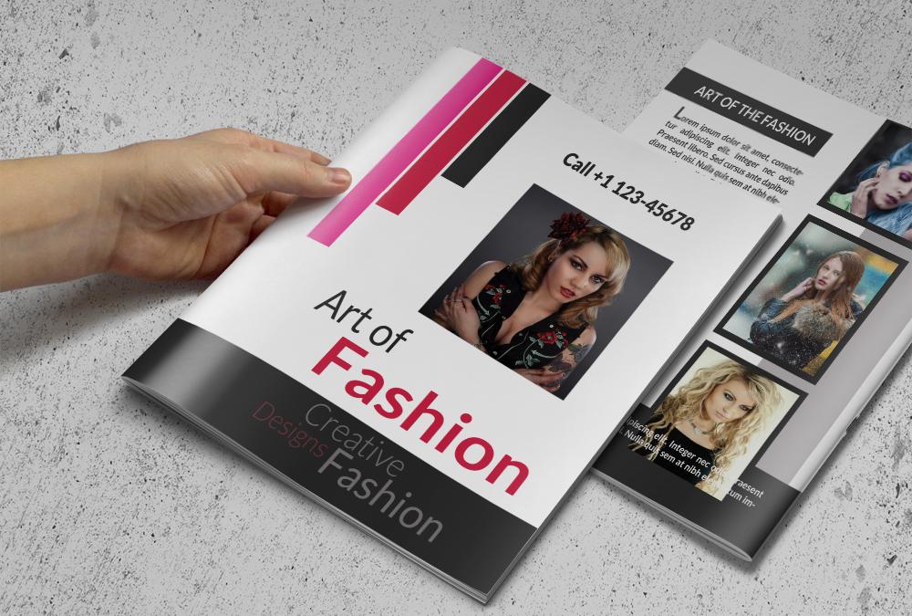 fashion brochure templates - fashion business brochure brochure templates on creative