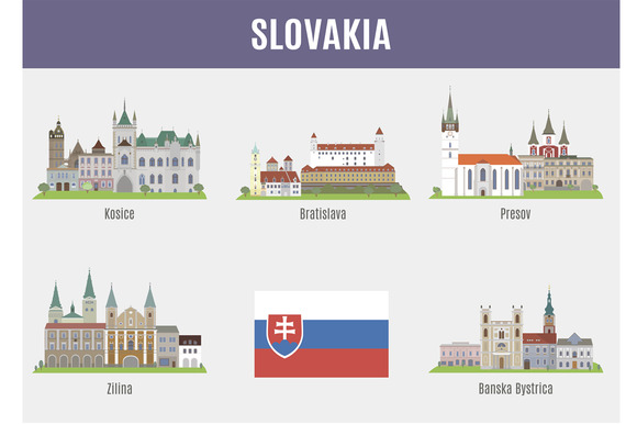 Cities In Slovakia