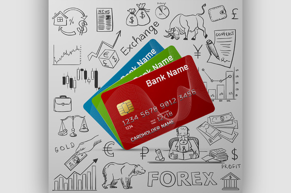 Credit Cards And Exchange Icon