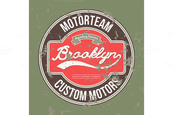 Motorteam Brooklyn T-shirt Graphic