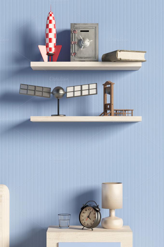 Shelf Abstract Photos On Creative Market