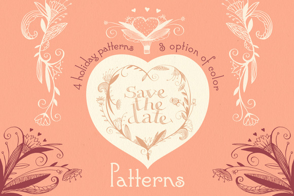 Save the date. Patterns. - Patterns