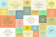 20 Rustic Wedding Badge & S-Graphicriver中文最全的素材分享平台