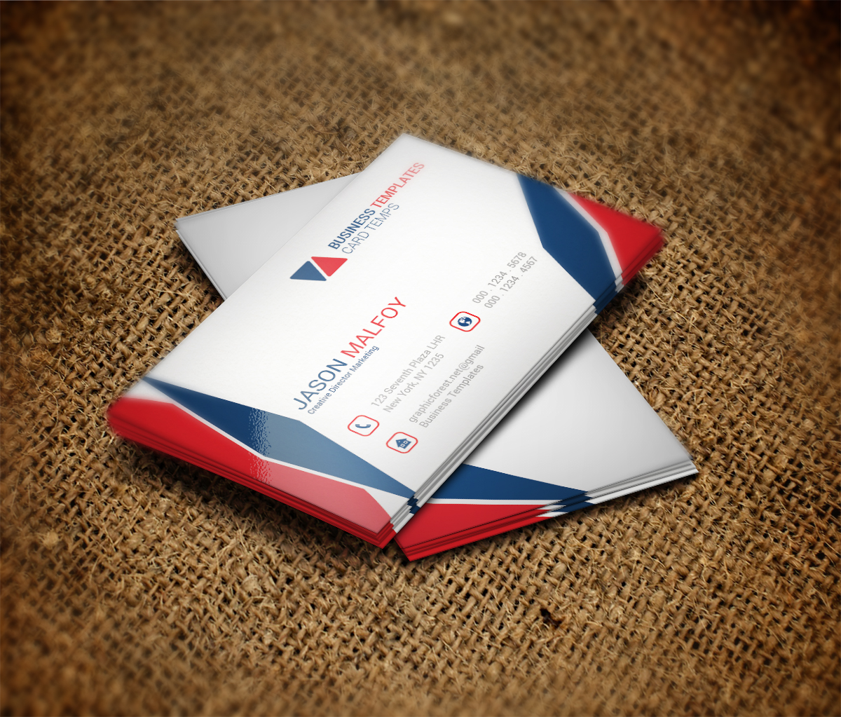 Cool Business Card Template ~ Business Card Templates on Creative ...